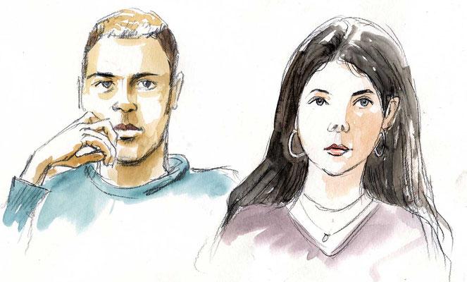 Anaïs und Timon von Martin