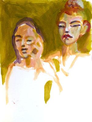 Anna und Lina von Corina