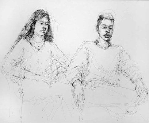 Anaïs und Timon von Malgorzata