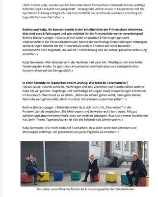 SP Publireportage Kandidierende Schulbehörde 2021 - ausführliches Interview