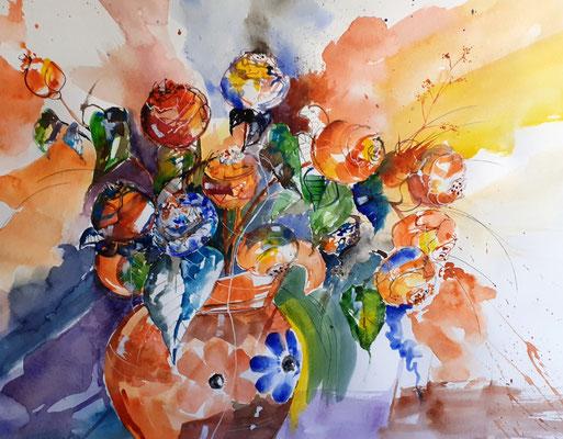 Rosen in der Vase