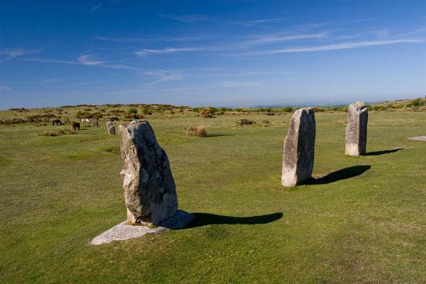 Steinkreis im Bodmin Moor