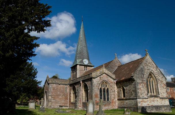 Dorfkirche auf dem Weg
