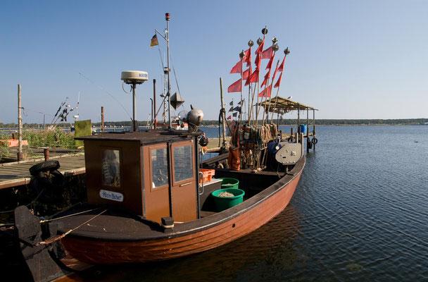 Im Fischerhafen von Klein Zicker