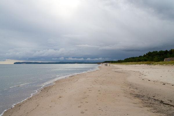 Der ewig lange Sandstrand von Prora