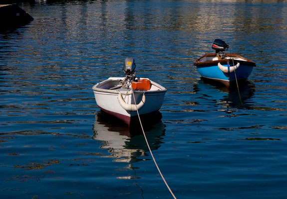 Im Hafen von St. Mawes