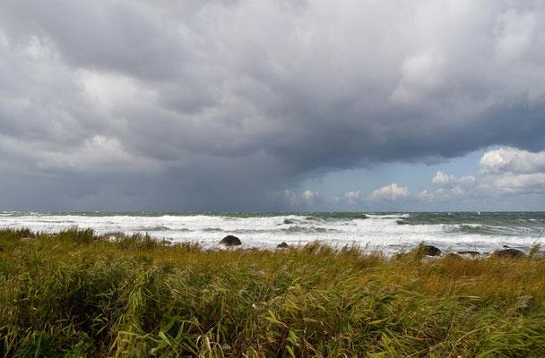 Stürmische See am Kap Arkona