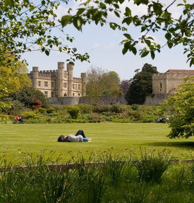 Im Park von Leeds Castle