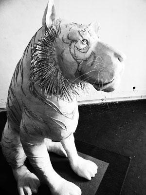 Tigre de papier- 180/160/80cm