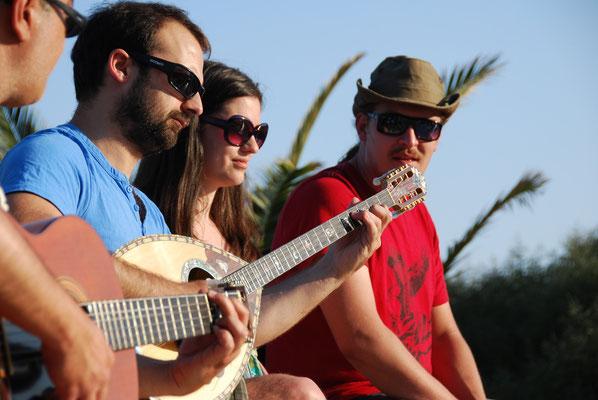 Kreta ! Livemusik beim Strandfest