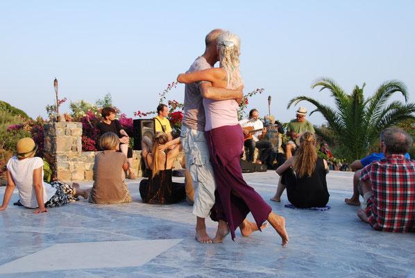 Marleen Tango Strandfest Kreta