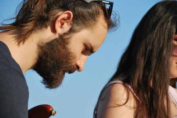 Strandfest Tango auf Kreta griechische Livemusik