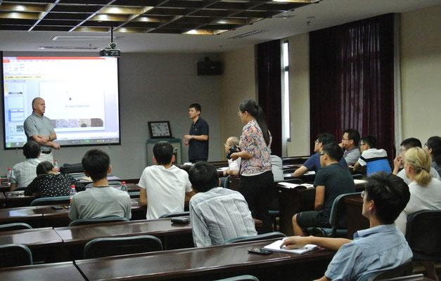 Dr. Gruda in Xiamen, China.