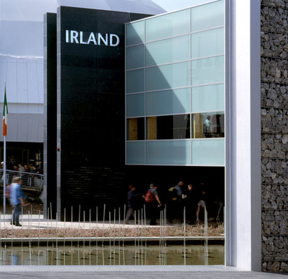 Irland Pavillon auf der Expo in Hannover