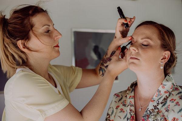 Karin Dietzel Fotografie; Hochzeitsmesse: Ich Haare & Make Up