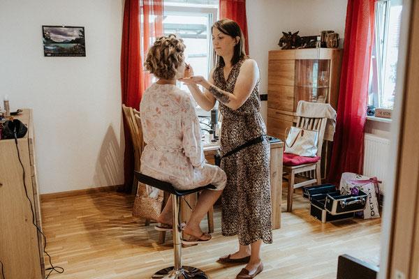 Karin Dietzel Fotografie; Ich:Haare & Make Up