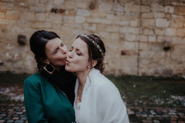 Hochzeitsfotograf Kevin Biberbach; Ich: Haare & MU (Braut+Trauzeugin)