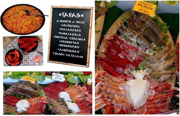 Calpe Hafen - Paella - Tapas - Mariscada