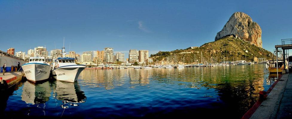 Calpe - Hafen