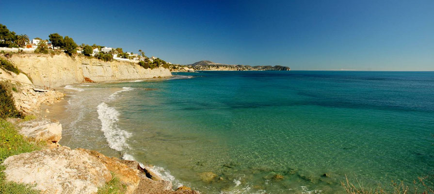 Calpe - Playa Cala Caleta