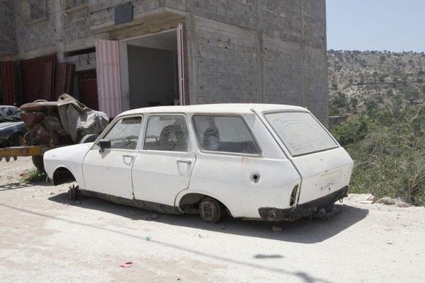 Renault 12 Combi oder was noch davon übrig ist.