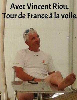 Avec Vincent Riou - Tour de France à la Voile