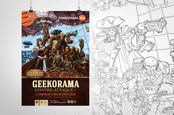 Panorama XXL - Geekorama