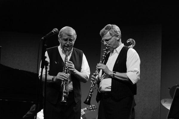 Peter Meili: Sopransaxophon - Thomas Gilg Klarinette