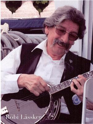 Röbi Lässker: Banjo, Gitarre