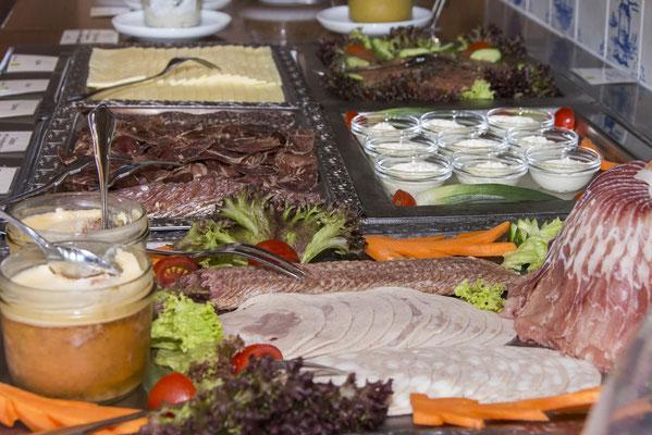 Bio Frühstück in unserem Dünenhotel Strandeck