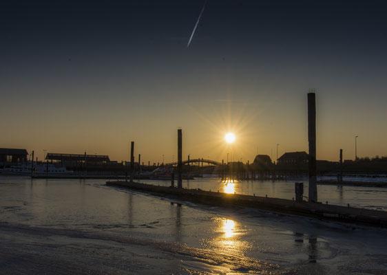 Eismeer am Hafen