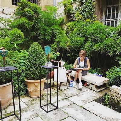 Malagarty, galerie de la Prévôté Aix-en-Provence 2019