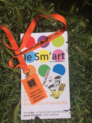 Malagarty, SM'ART Aix-en-Provence 2017