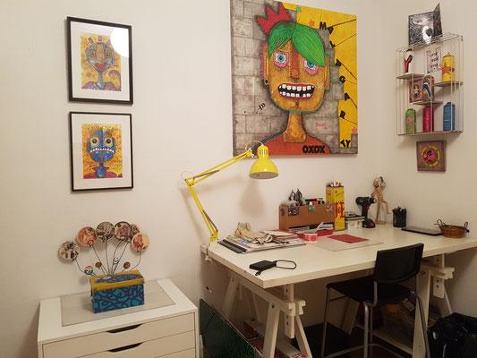 Malagarty, atelier