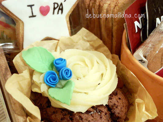 Cupcake personalizado para papá