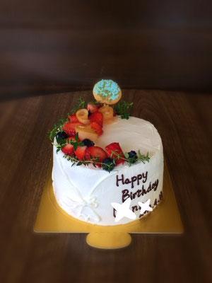 12cm 花束をイメージしたケーキ