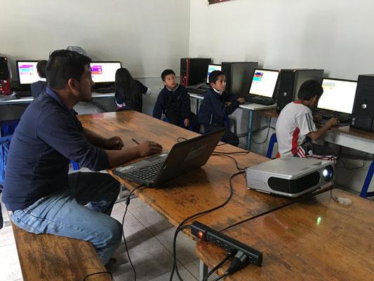 Informatikunterricht in der Schule Educare