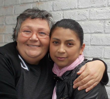 """Maria de Lourdes hat als Kind an diversen Projekten von Cisol teilgenommen. Liebevoll wurde sie von allen """"Mariíta"""" genannt. Später studierte sie Biochemie und Pharmazie und arbeitet nun als Apothekerin."""