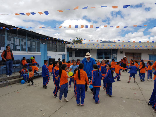 40. Jubiläum in der Schule Educare