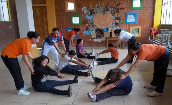 """LehrerInnen-Workshop zum Thema """"Körperliche Aktivität"""". Foto: Cisol 2015"""