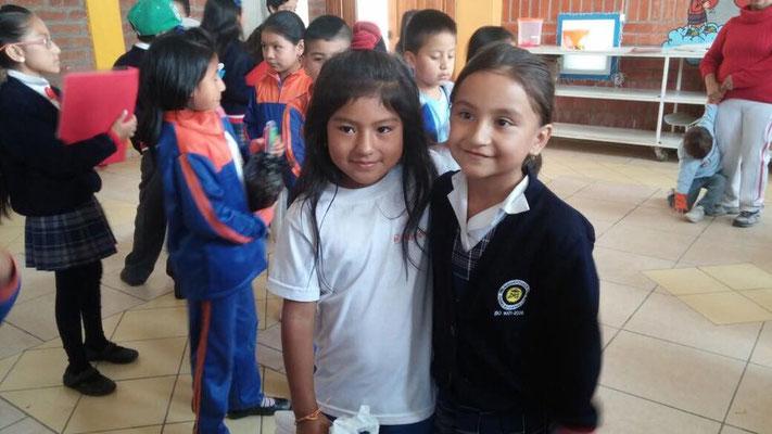 Besuch der SchülerInnen der Unidad Educativa Calazans