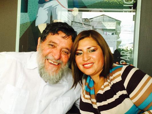 Als Kind hat Patty mit viel Elan an Projekten von Cisol teilgenommen. In Quito hat sie Kosmetik studiert, wo sie auch heute noch mit ihrer eigenen kleinen Familie lebt und als Kosmetikerin arbeitet.
