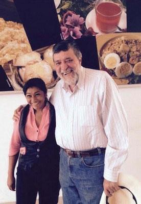 Tatiana Ríos hat als Kind an Projekten von Cisol teilgenommen. Heute arbeitet sie am Flughafen in Catamayo (Nähe Loja).
