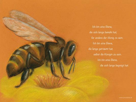 Ich bin eine Biene. ichrondelle, was ich bin, Gisela Rott, Lebenskunst-edition