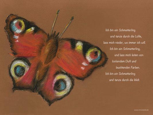 Ich bin ein Schmetterling. ichrondelle, was ich bin, Gisela Rott, Lebenskunst-edition
