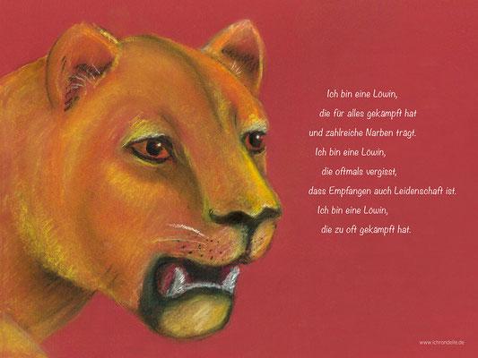 Ich bin eine Löwin. ichrondelle, was ich bin, Gisela Rott, Lebenskunst-edition