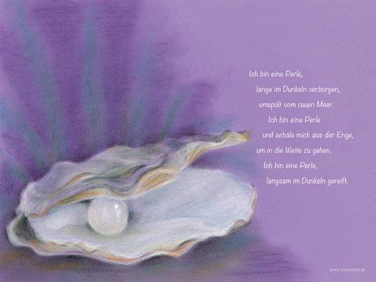 Ich bin eine Perle. ichrondelle, was ich bin, Gisela Rott, Lebenskunst-edition