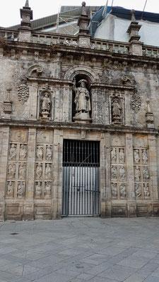 Hl. Pforte von der Praza de Praterias