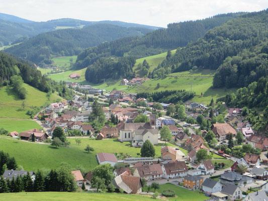 Blick auf Mühlenbach