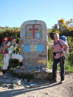 Grenze zu Galicien